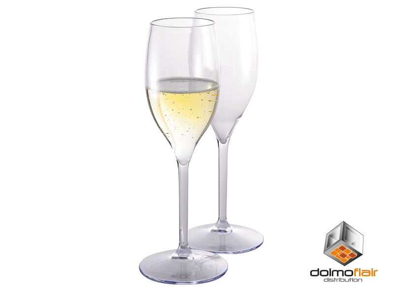 Sektglas Kunststoff